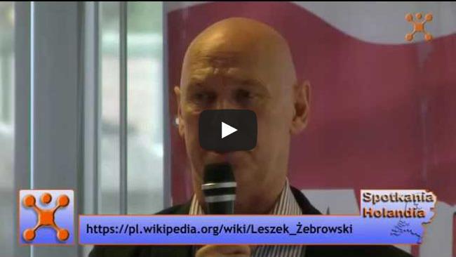 Leszek Żebrowski - spotkanie - Amsterdam, 27.09.2015 cz. 2