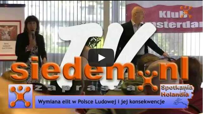 Leszek Żebrowski - wrzesień 2015 - Amsterdam, Holandia - Zaproszenie.