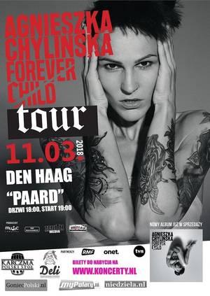 Agnieszka Chylińska - koncert Holandia, Haga 2018