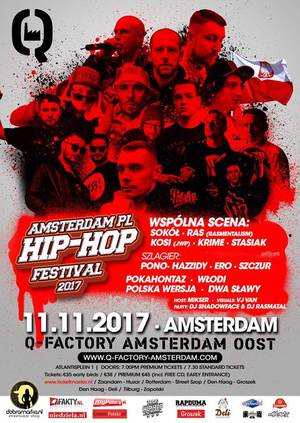 Amsterdam.pl Hip Hop Festival 2017