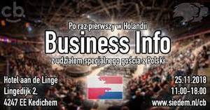 Business Info - CashBack World Holandia 2018
