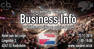 Business Info - CashBack World Holandia 2018