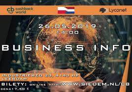 Business Info - CashBack World Holandia 2019
