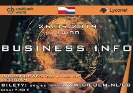 Business Info - CashBack World Holandia 2019