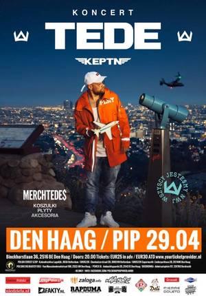 Tede w Holandii - Haga 29.04.2017 Hiphopowa uczta w Holandii
