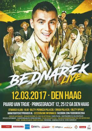 Kamil Bednarek w Holandii, Haga - zaproszenie