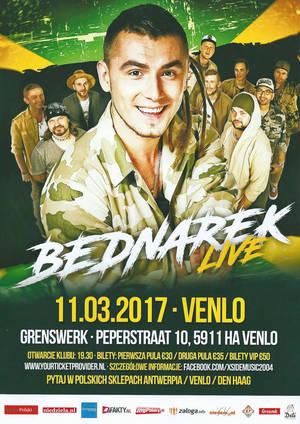 Kamil Bednarek w Holandii, Venlo - zaproszenie