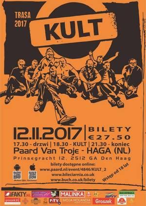 Koncert KULT w Hadze - zaproszenie