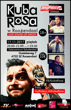 Kuba Rosa w Holandii - Roosendaal 17.10.2017