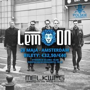 Koncert zespołu LemOn 28.05.2017 - Amsterdam Holandia klub Melkweg