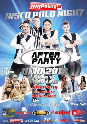 Holandia: Disco Polo Night 01.10.2016 Etten-Leur