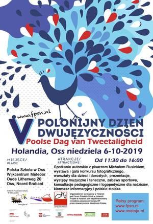 Polonijny Dzień Dwujęzyczności - Holandia, Oss 06.10.2019