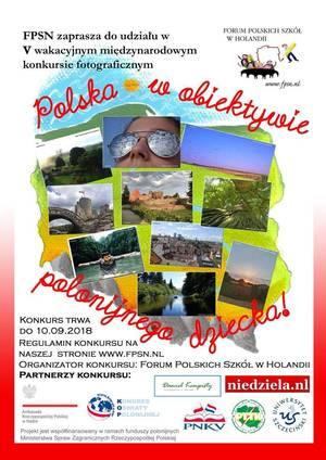 Polska w obiektywie polonijnego dziecka - konkurs fotograficzny dla dzieci.