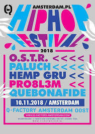 Polski Hip Hop Fest Holandia, Amsterdam 10.11.2018