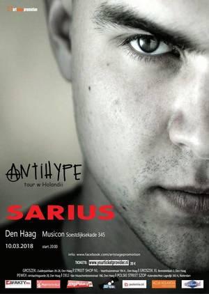 Sarius – Antihype tour Haga, Holandia