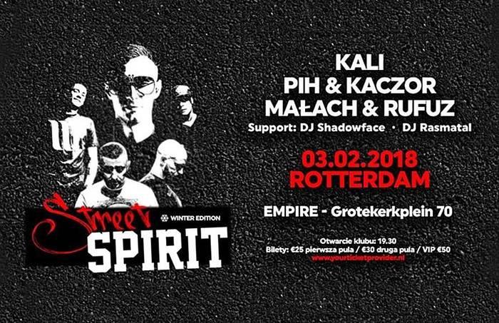 Street Spirit vol.2: Kali, Małach & Rufuz, PiH & Kaczor - Rotterdam