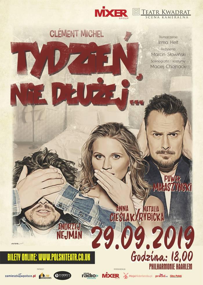 Polski teatr w Holandii - Philharmonie Haarlem - 29.09.2019