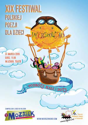 19 Festiwal Polskiej Poezji dla dzieci - Wierszowisku 2019