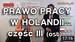 Porady prawne – Holandia. Holenderskie Prawo Pracy 2016 – część 3